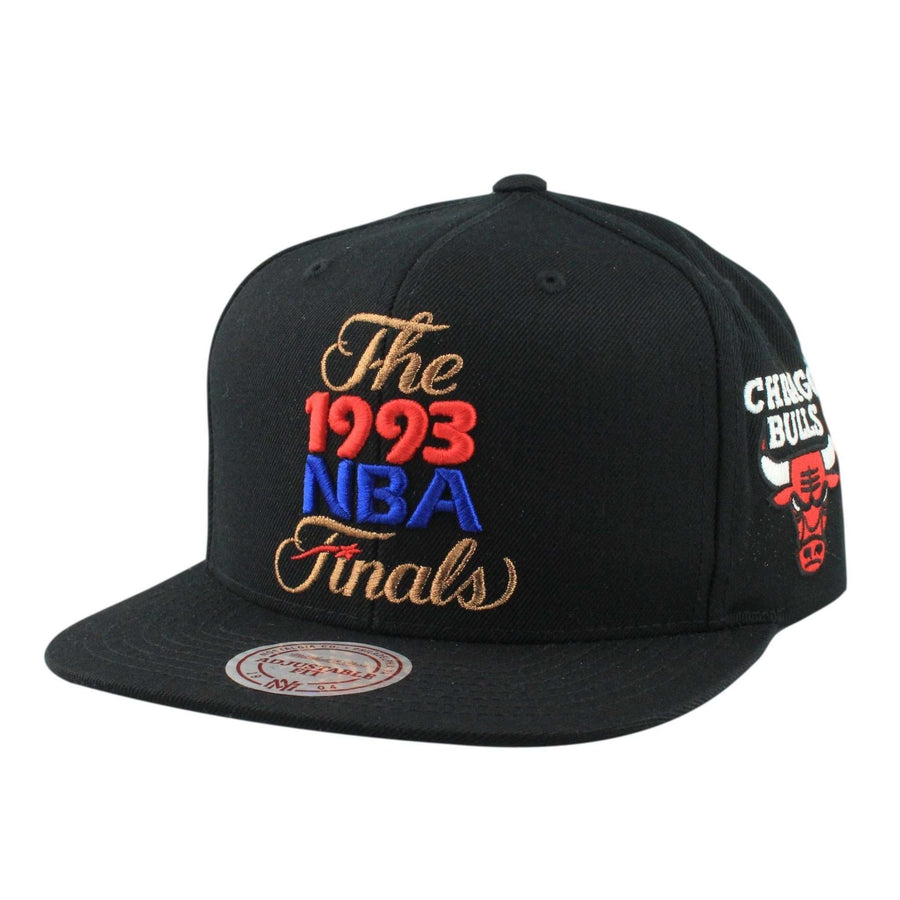 4b9241bab31cda switzerland mitchell and ness chicago bulls 1993 finals black black snapback  cdbf3 3b299