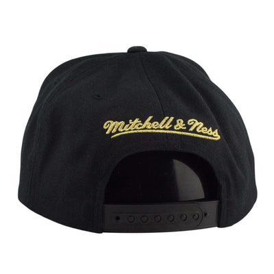 Mitchell and Ness Chicago Bulls 50th Black/Black Snapback