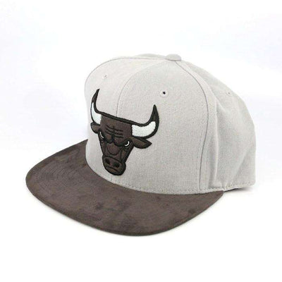 Mitchell and Ness Chicago Bulls Dark Agent Gray/Gray Fitted