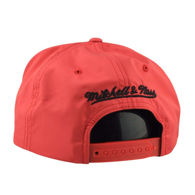 Mitchell and Ness Chicago Bulls Reflective Lava Red/Black Snapback