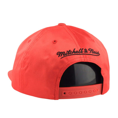 Mitchell and Ness Chicago Bulls Satin Red/Red Snapback