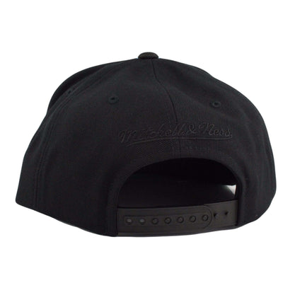 Mitchell and Ness Chicago Bulls Tonal Ballistic Black/Black Snapback
