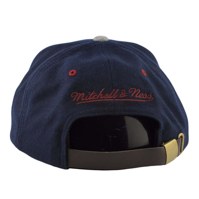 Mitchell and Ness Cleveland Cavaliers Heather Melton Visor Blue/Gray Strapback