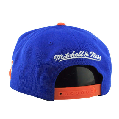 Mitchell and Ness Cleveland Cavaliers XL Logo BL/O Snapback
