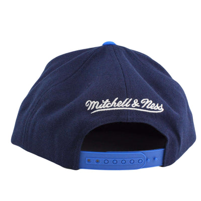 Mitchell and Ness Dallas Mavericks Tri Pop Wordmark Blue/Blue Snapback