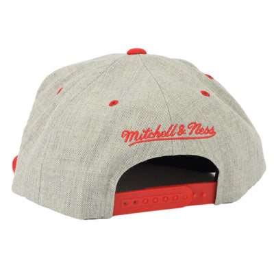 premium selection e555b 453ea ... ireland mitchell and ness detroit red wings gray city bar gray red  snapback 188b8 77815