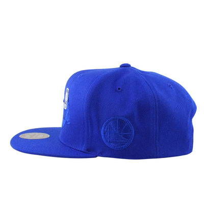 Mitchell and Ness Golden State Warriors 2015 Finals Blue/Blue Snapback