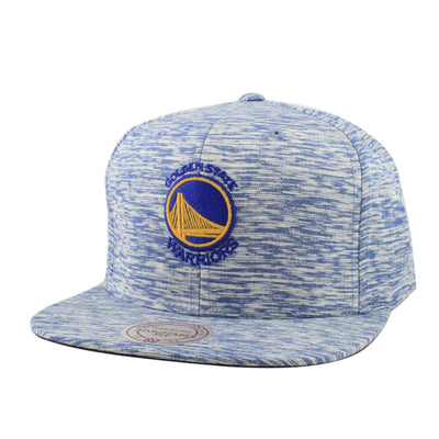 Mitchell and Ness Golden State Warriors Against The Grain Blue/Blue Snapback