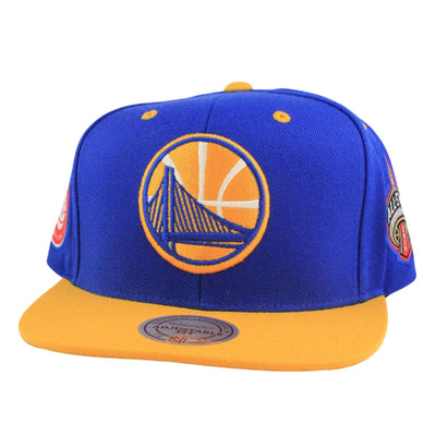 Mitchell and Ness Golden State Warriors All Star Blue/Yellow Snapback