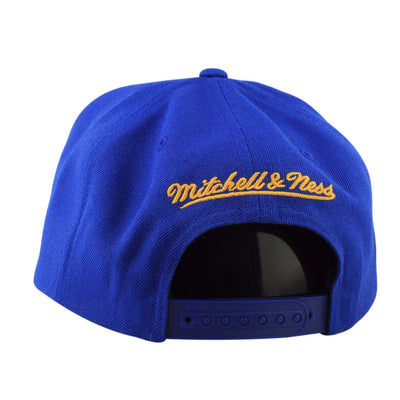 Mitchell and Ness Golden State Warriors City Gothic Blue/Blue Snapback
