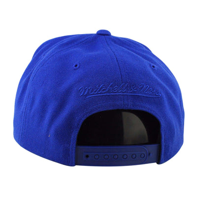 Mitchell and Ness Golden State Warriors City Undervisor Blue/Yellow Snapback