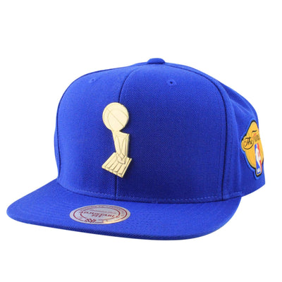 Mitchell and Ness Golden State Warriors Finals Blue/Blue Snapback