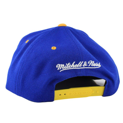 Mitchell and Ness Golden State Warriors Grand Arch Blue/Yellow Snapback