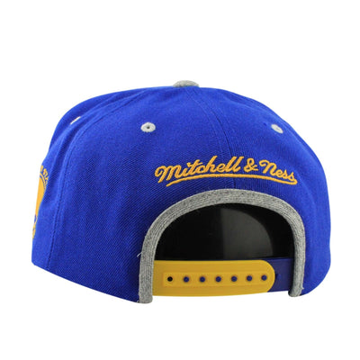 Mitchell and Ness Golden State Warriors Special Script Blue/Gray Snapback