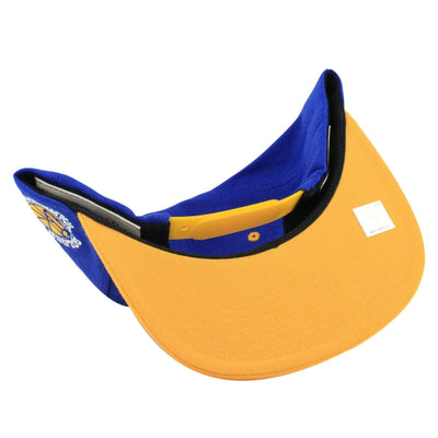 Mitchell and Ness Golden State Warriors Top Shelf Blue/Yellow Snapback