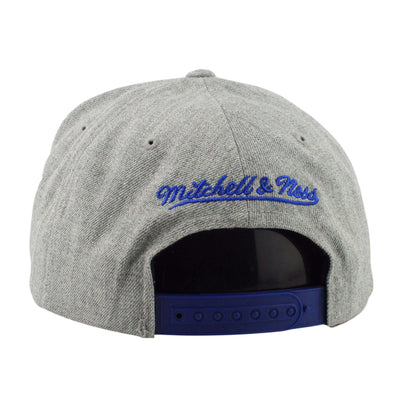 Mitchell and Ness Golden State Warriors Tri Pop Special Script Gray/Gray Snapback