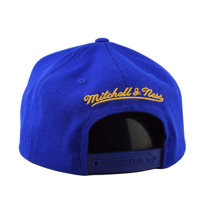 Mitchell and Ness Golden State Warriors Wool HWC Logo Blue/Blue Snapback