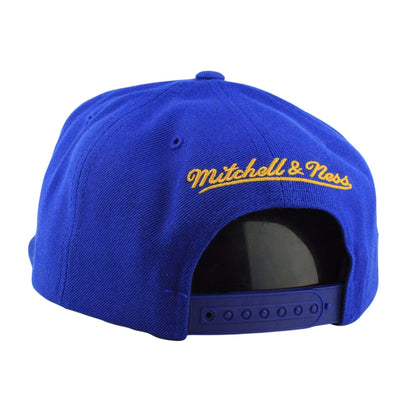 Mitchell and Ness Golden State Warriors Wool Logo Blue/Blue Snapback