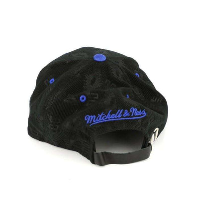 Mitchell and Ness Los Angeles Clippers Debossed Black/Black Strapback