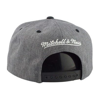 Mitchell and Ness Los Angeles Galaxy Cation 2T Gray/Black Snapback