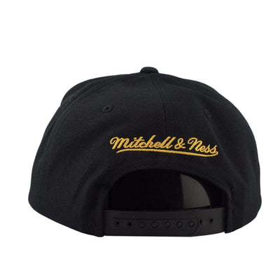 Mitchell and Ness Los Angeles Galaxy Team Solid Black/Black Snapback