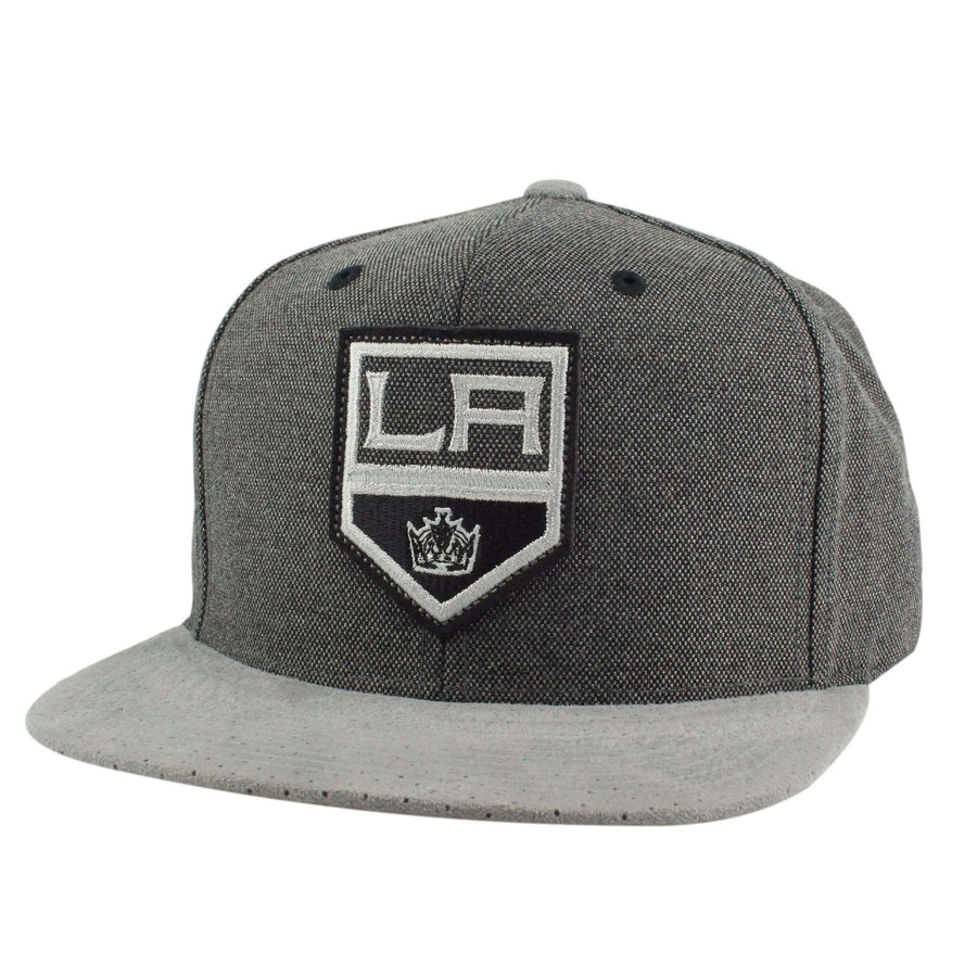9674a8bb878 Mitchell and Ness Los Angeles Kings Cation Perforated Gray Gray Snapback