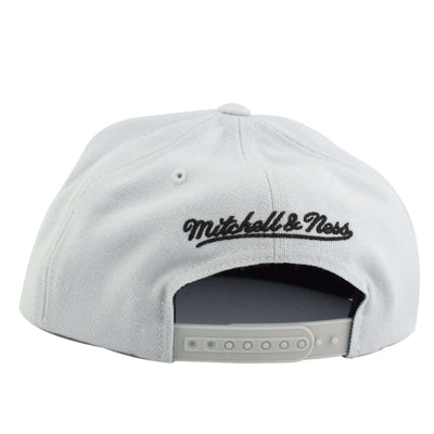 Mitchell and Ness Los Angeles Kings Current Gray/Gray Snapback