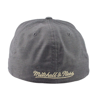 Mitchell and Ness Los Angeles Kings Heather Profile Gray/Gray Fitted
