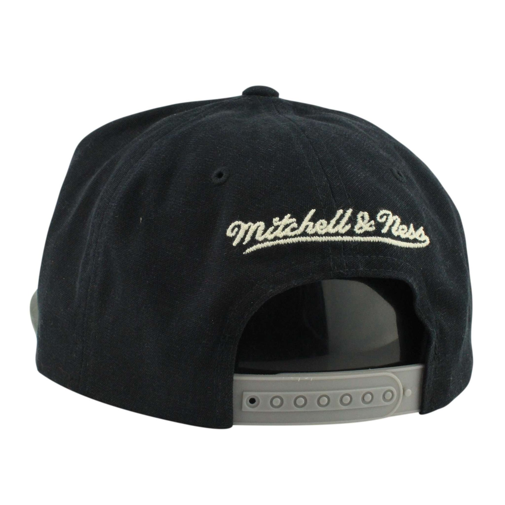 Mitchell and Ness Los Angeles Kings Sandy Off White Black Gray Snapback 92d905df435