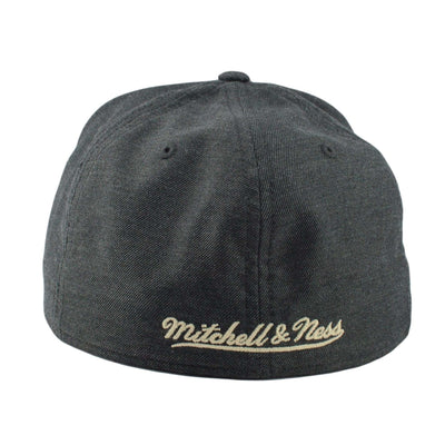 Mitchell and Ness Los Angeles Lakers Heather Profile Gray/Gray Fitted