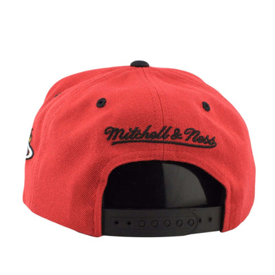 Mitchell and Ness Miami Heat Reflective Arch Red/Red Snapback