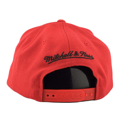 Mitchell and Ness Miami Heat Wool Solid 2 Red/Red Snapback