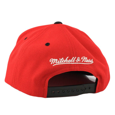 Mitchell and Ness New Jersey Devils Grand Arch Red/Black Snapback