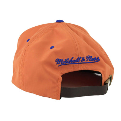 Mitchell and Ness New York Knicks Butter Nylon Orange/Brown Strapback