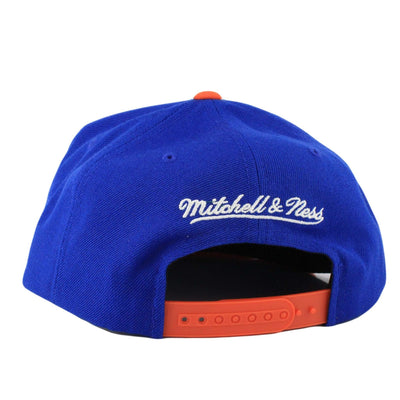 Mitchell and Ness New York Knicks Stars By My Side Blue/Orange Snapback