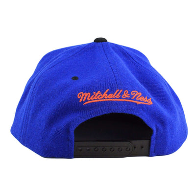 Mitchell and Ness New York Knicks Triangle Blue/Black Snapback