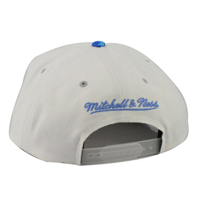 Mitchell and Ness Oklahoma City Thunder White/Blue Digi Camo Snapback