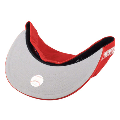 New Era Anaheim Angels All White Red/Red Fitted