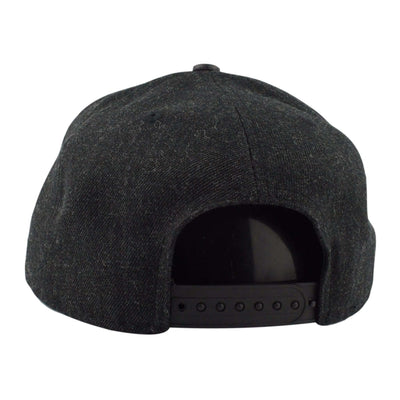 New Era Buffalo Bills Leather Match Black/Black Snapback