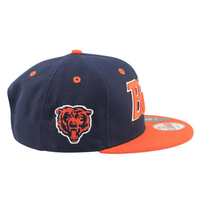 New Era Chicago Bears 2Tone Retro 63-92 Blue/Orange Snapback