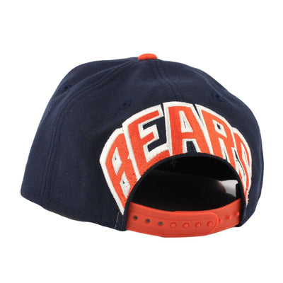 New Era Chicago Bears Mark Backer Blue/Orange Snapback