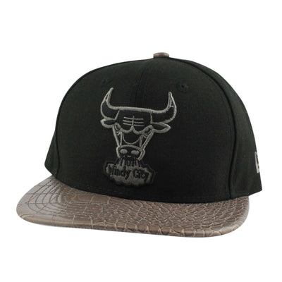 New Era Chicago Bulls HWC Vize Skinz Black/Gray Snapback