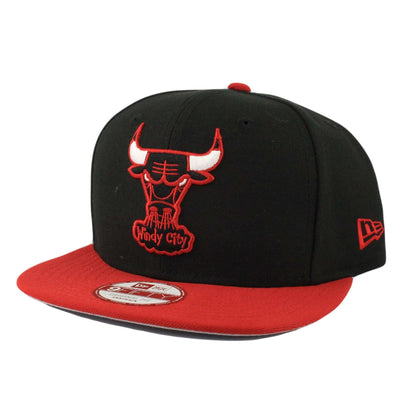 New Era Chicago Bulls Mark Backer Black/Red Snapback