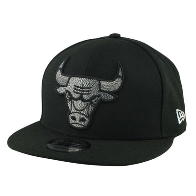 New Era Chicago Bulls Twist Snap Black/Black Snapback