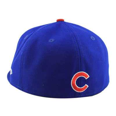 New Era Chicago Cubs 2016 World Series Blue/Blue Fitted