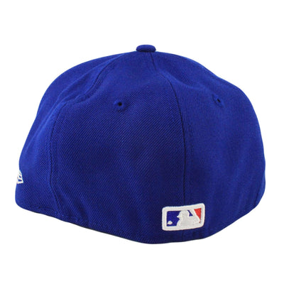 New Era Chicago Cubs Logo Lush Blue/Blue Fitted