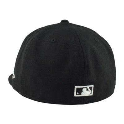 New Era Chicago White Sox Cooperstown Black/Black Fitted