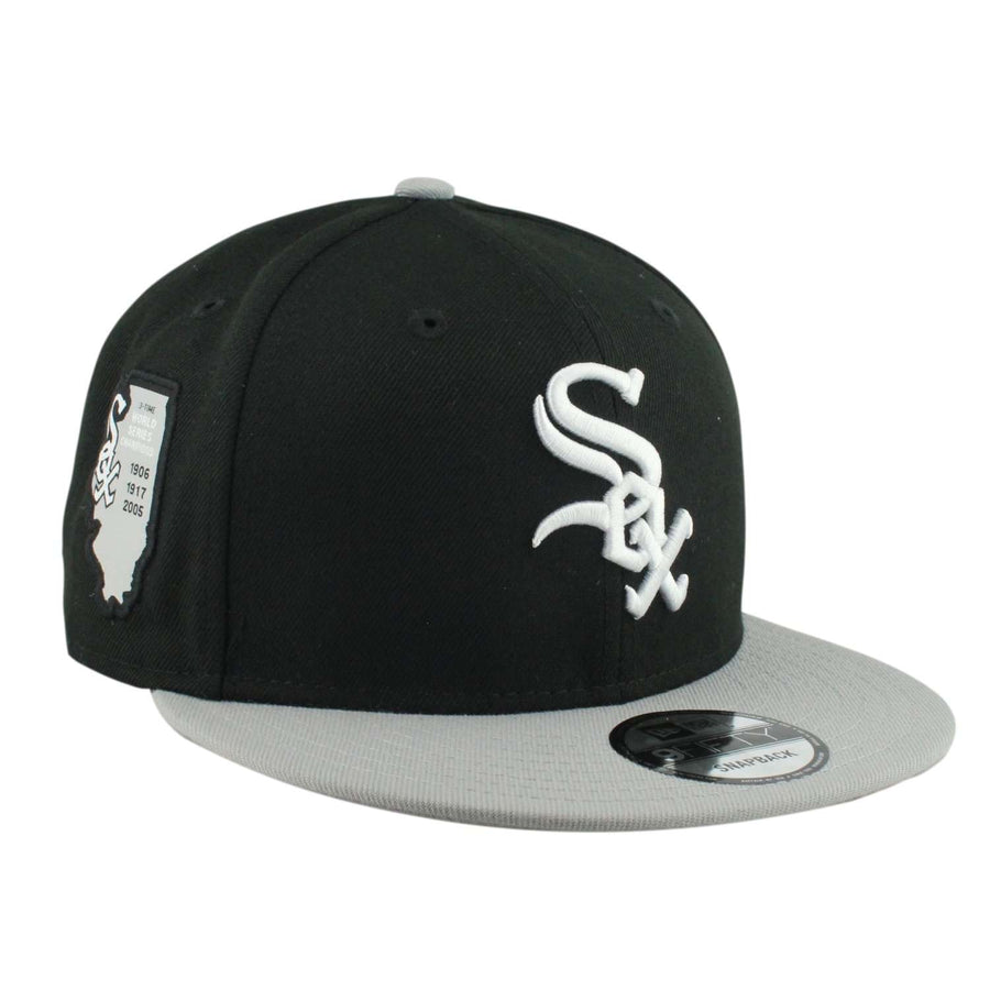 baef8ef9327 shopping new era chicago white sox side stated black gray snapback 26d44  3ba73