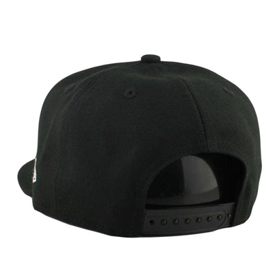 New Era Chicago White Sox White Team Deluxe Black/Black Snapback