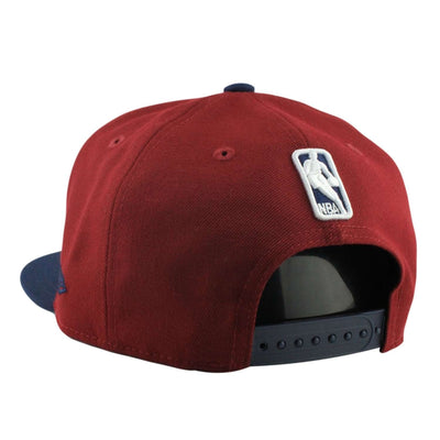 New Era Cleveland Cavaliers Side Stated Maroon/Navy Snapback